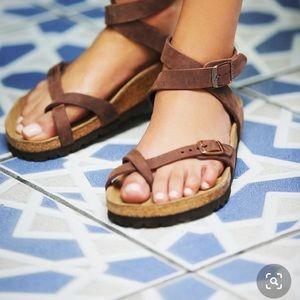 **Birkenstock Yara leather size 10/40